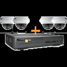 AVTECH Indoor Bundel Set - 1x AVH304 + 4x AVM2421