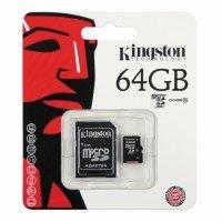 Kingston MicroSD met adapter 64GB (Class 10)