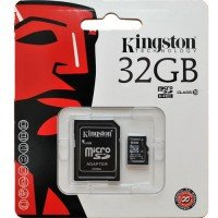 Kingston MicroSD met adapter 32GB (Class 10)