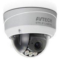 AVTECH AVM542F, Indoor-Outdoor Dome, 2MP, POE, SD, WDR, Varifocal 2.8/12mm lens