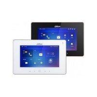 """Dahua Easy4IP VTH5221D Color Indoor Monitor 7"""", IP-video, WiFi/POE, kleur zwart/wit"""