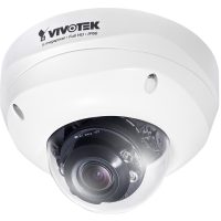 Vivotek FD8381-EV - Fixed Dome Camera - 5MP - 25fps - 30M IR - Smart Focus Systeem - IP66 - IK10 - Extreme Weather Support met PoE - Smart Stream