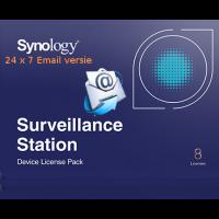 Synology Camera License, 8 camera's - Automatisch 24/7 direct per E-mail verzonden