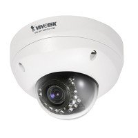 Vivotek FD8335H Fixed Dome Megapixel Netwerk IP Dag/Nacht Camera Outdoor Varifocale Lens